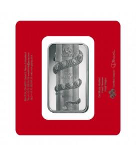 2013 Silver Lunar Snake - 100 Grams