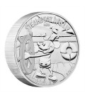 Disney Silver Coin - Steamboat Willie