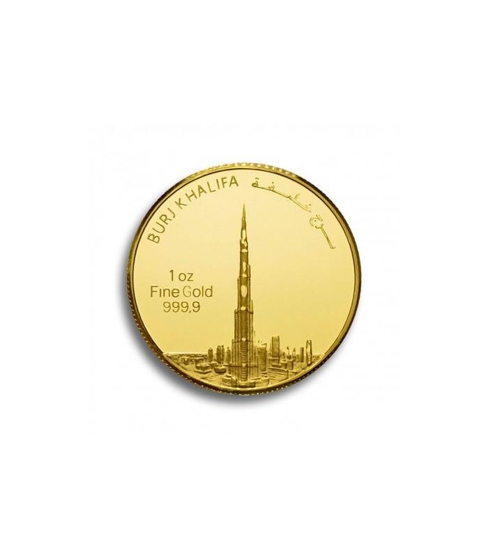Burj Khalifa Gold Coin