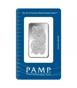Fortuna Silver Rectangular Ingot - 1 oz