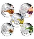 Discover Australia 2013 1oz Silver Proof Five-Coin Set