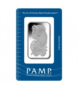 PAMP 100 Gram Platinum Bar