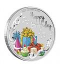 Happy Birthday 2017 1oz Silver Coin