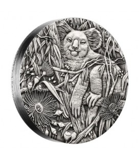 Koala 2017 2oz Silver High Relief Antiqued Coin