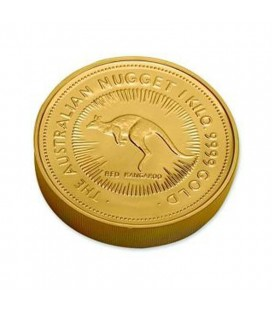 NUGGET COIN PAPERWEIGHT