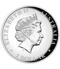 Australian Kangaroo 2014 1oz Silver High Relief Coin