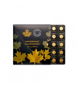 1 gram Gold Maple Leaf - Maplegram25™
