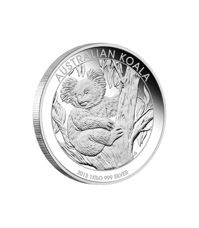 Koala 1 Kilo Silver Proof Coin 2013