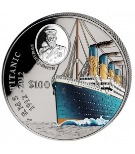 Colored Coin 100 YEARS TITANIC 2012 - 1 KG