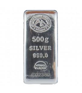Nadir 500 Gram Silver Bar