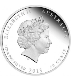 Birds of Australia – Splendid Fairy-wren 2013 1/2oz Silver Proof Coin
