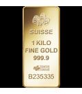Fortuna Gold Rectangular Ingot - 1 Kg