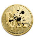 Disney Steamboat Willie 1 Oz Gold Bullion Coin