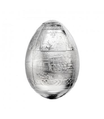 Trans-Siberian Railway Egg, 5,000 francs