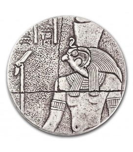 Republic of Chad 2 oz Silver Horus-2016
