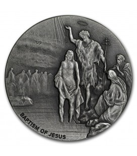 Biblical Series (The Baptism of Jesus)-2017 2 oz Silver Coin