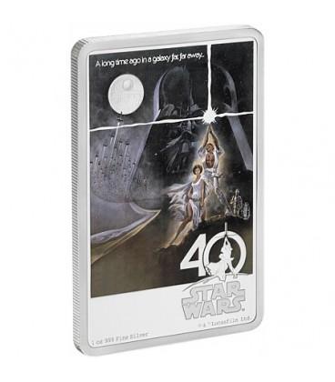 Star Wars 40th Anniversary 1oz Silver Coin