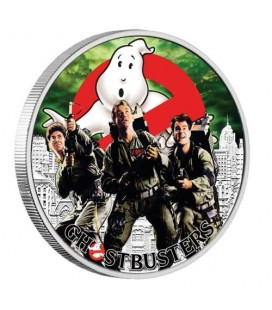 Ghostbusters™ Crew 2017 1oz Silver Coin
