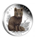 Polar Babies - Arctic Fox 2017 1/2oz Silver Proof Coin