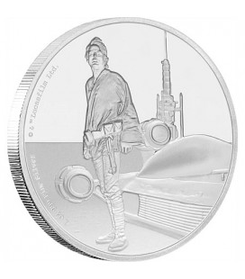 Star Wars Classic: Luke Skywalker™ 1 Oz Silver Coin