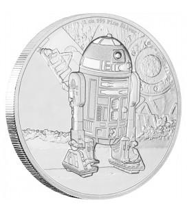 Star Wars Classic: R2-D2™ 1 Oz Silver Coin