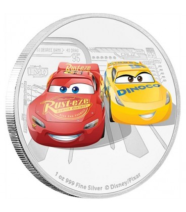 Disney•Pixar - Cars 3 Silver Coin