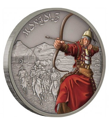 Warriors Of History - Mongols Silver Coin