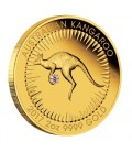 Australian Kangaroo 2017 2oz Gold Proof Pink Diamond Edition
