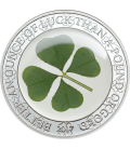 Four-leaf Clovers 1 oz coin