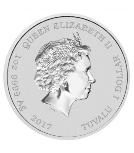 Diwali Festival 2017 1oz Silver Coin