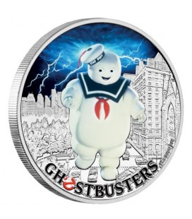 Ghostbusters™ - Stay Puft 2017 1oz Silver Coin