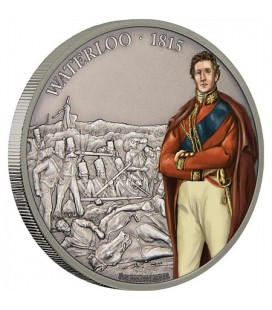 Battle Of Waterloo - 1oz Silver Coin