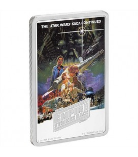 Star Wars: The Empire Strikes Back 1oz Silver Coin