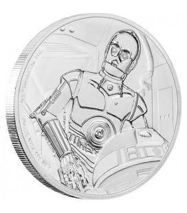 Star Wars Classic: C-3PO™ 1oz Silver Coin