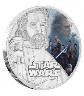 Star Wars: The Last Jedi - Luke Skywalker™ Silver Coin
