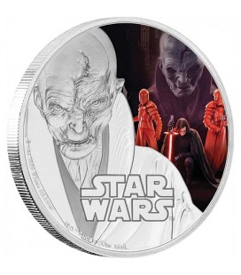 Star Wars: The Last Jedi - Supreme Leader Snoke™ Silver Coin