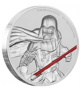 Star Wars Darth Vader Ultra High Relief 2oz Silver Coin