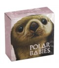 Polar Babies - Sea Otter 2017 1/2oz Silver Proof Coin