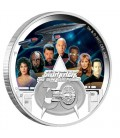 Star Trek: The Next Generation Crew 30th Anniversary 2017 2oz Silver Proof Coin