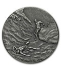 Biblical Series (The Death of Abel)-2 OZ Silver coin