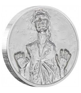 Star Wars Han Solo™ Ultra High Relief 2oz Silver Coin