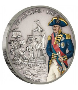 Battle Of Trafalgar - 1oz Silver Coin
