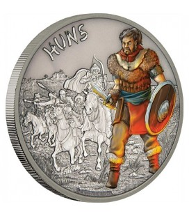 Warriors Of History - Huns Silver Coin