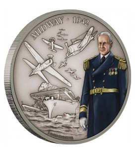 Battle Of Midway - 1oz Silver Coin