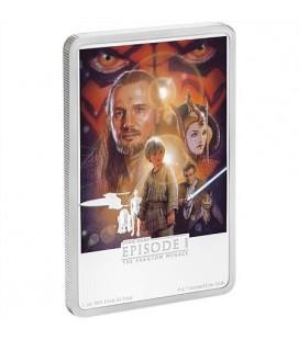 Star Wars: The Phantom Menace 1oz Silver Coin