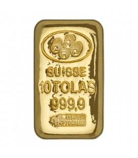 PAMP 10 Tola Gold Bar