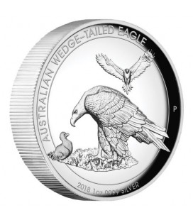 Wedge-tailed Eagle 2018 1oz Silver Proof High Relief Coin