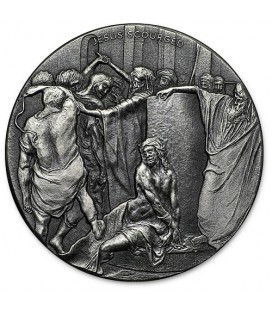 Jesus Scourged Biblical 2oz Silver Coin Series -2018