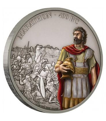 Battle Of Marathon - 1oz Silver Coin