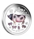 Lunar Silver Coin Series II 2019 Year of the Pig 1oz Silver Proof